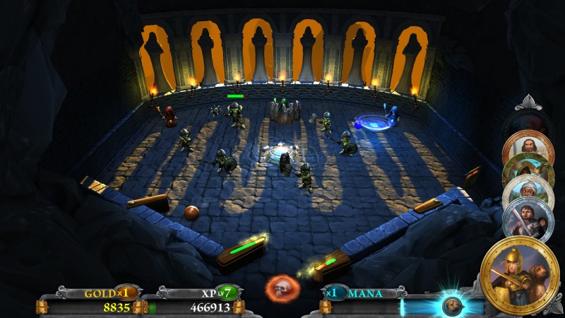 Gameplay de Rollers of the Realm