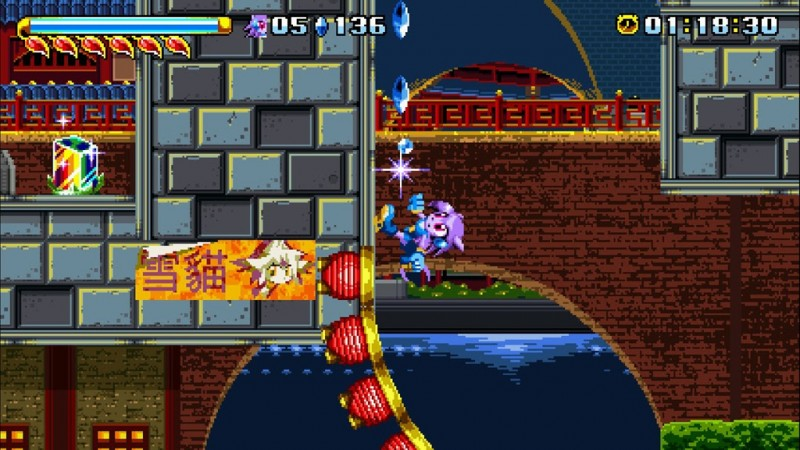 Gameplay de Freedom Planet