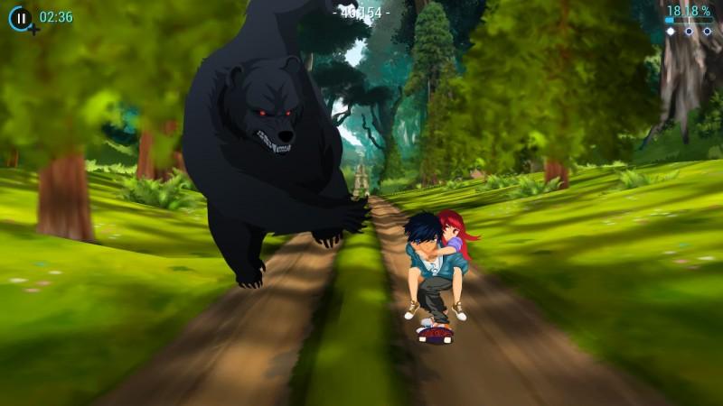 Gameplay de Lost In Harmony