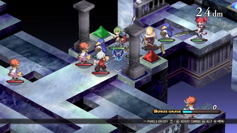 Gameplay de Disgaea 1 Complete