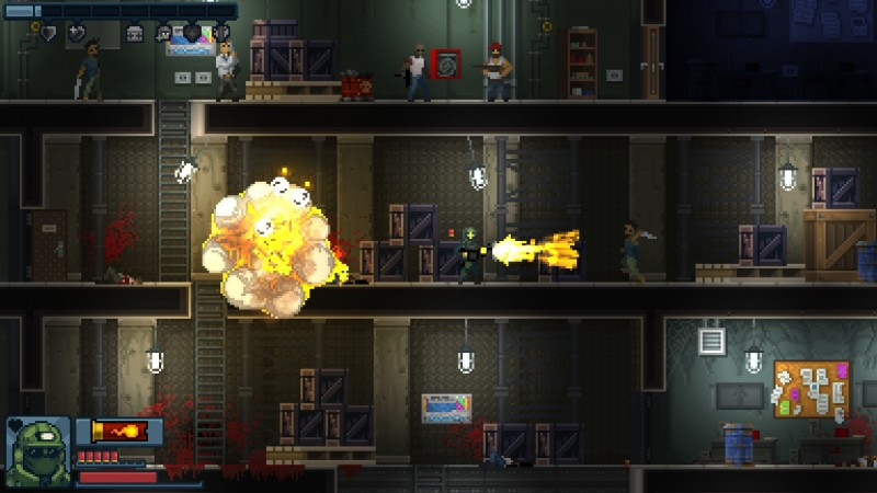 Gameplay de Door Kickers Action Squad