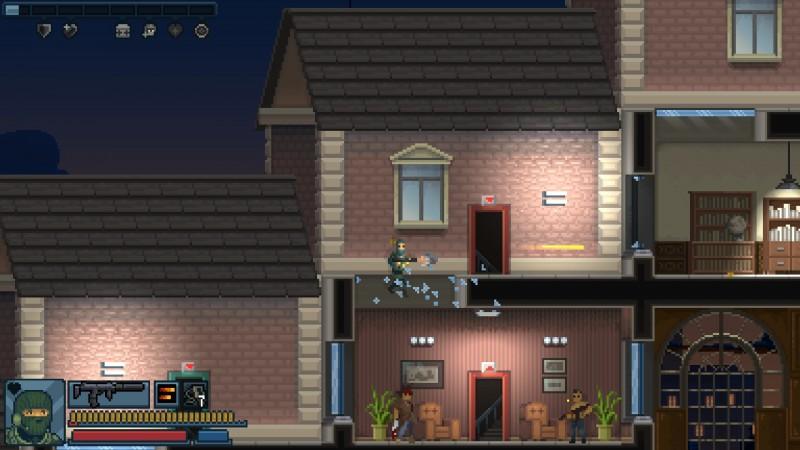 Gameplay de Door Kickers Action Squad