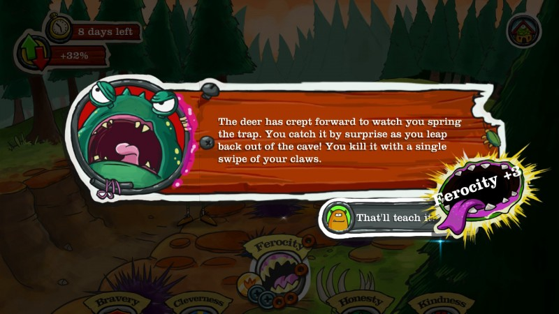 Gameplay de Monster Loves You!