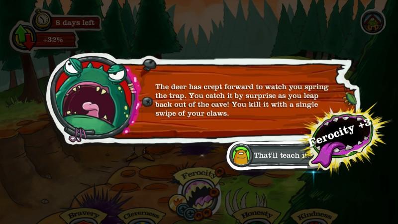 Gameplay de Monster Loves You!