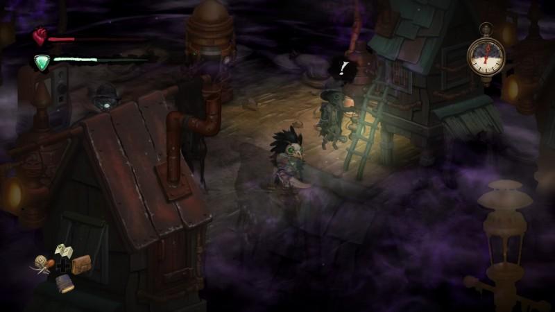 Gameplay de Smoke and Sacrifice