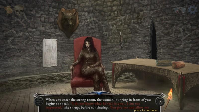 Gameplay de Shadowgate