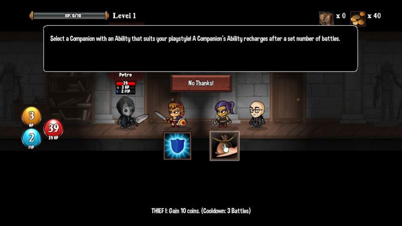 Gameplay de Monster Slayers
