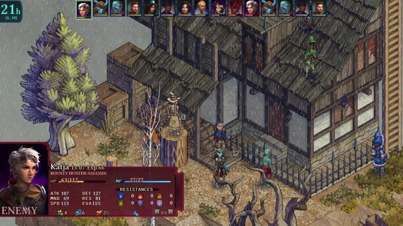 Gameplay de Fell Seal: Arbiter's Mark
