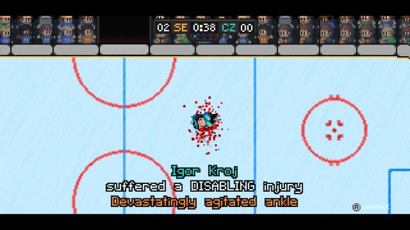 Gameplay de Super Blood Hockey