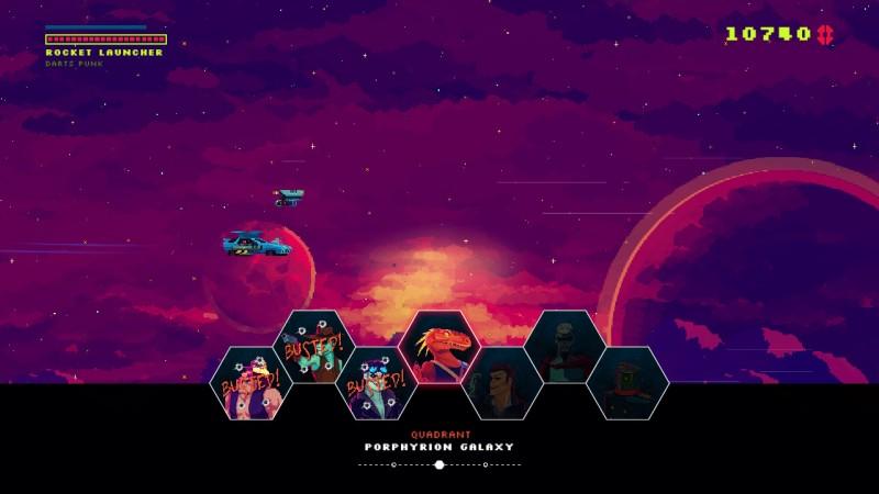 Gameplay de Black Paradox
