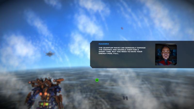 Gameplay de War Tech Fighters