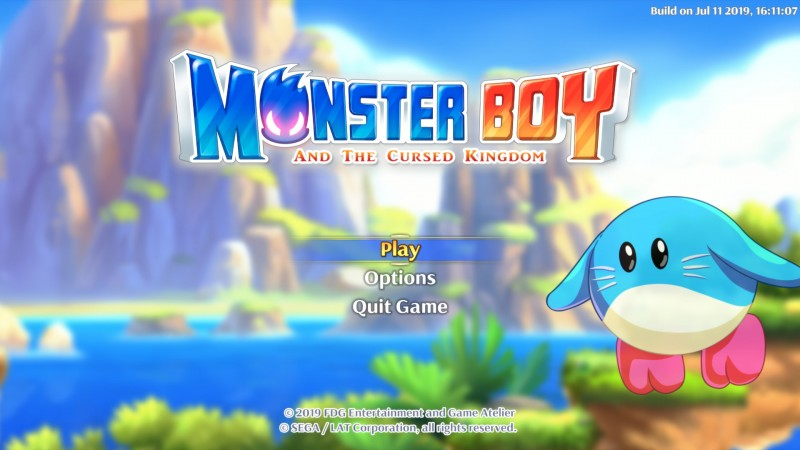 Review – Monster Boy and the Cursed Kingdom