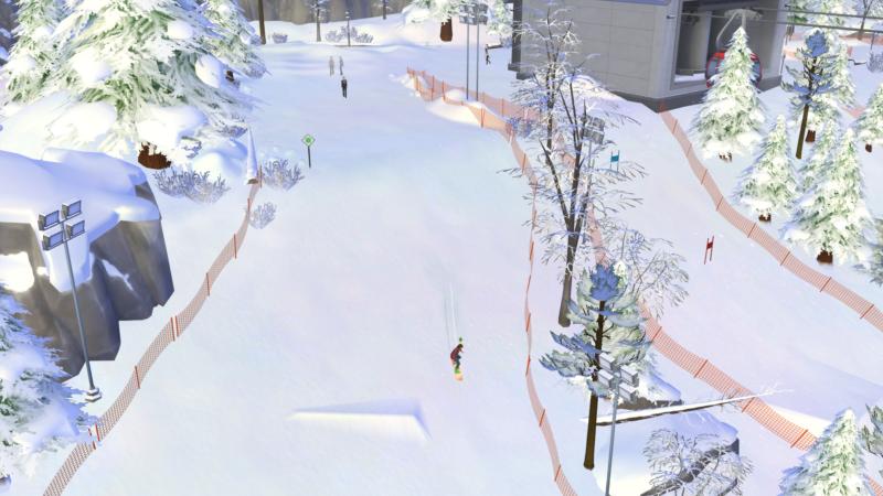 Review – Los Sims 4: Escapada en la nieve