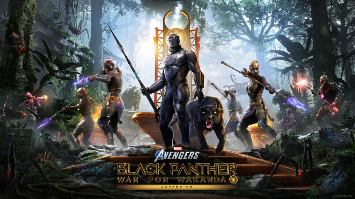 Black Panther Llega A Marvel's Avengers