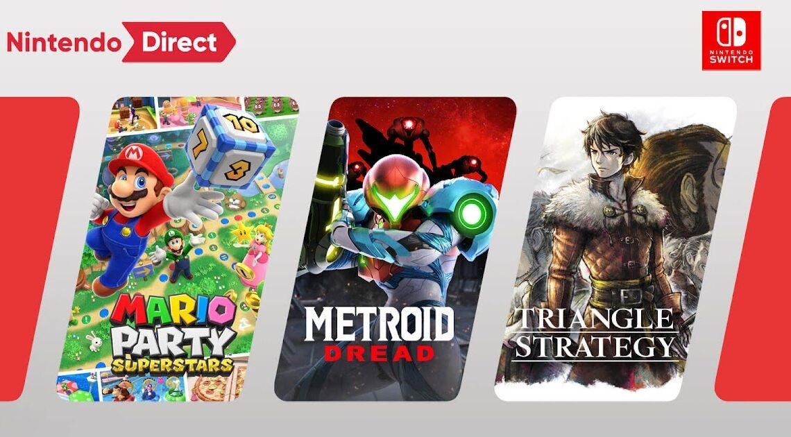 Nintendo Direct 23 de Septiembre