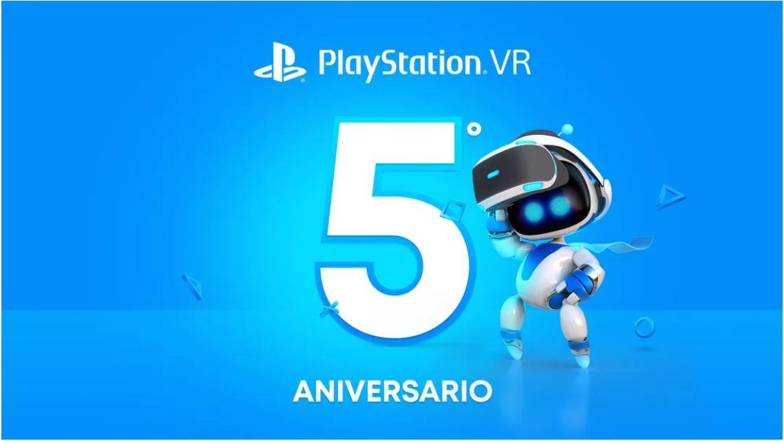 PlayStation VR Cumple 5 Años Y Lo Celebra Con Todo